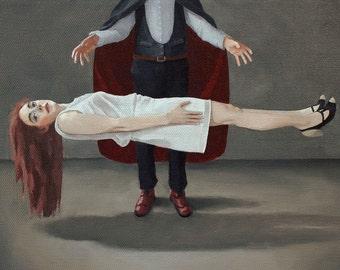 Lighter Than Air. print of an original oil painting