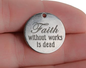 Faith Without Works Is Dead Vinyl Wall Art James 2:26