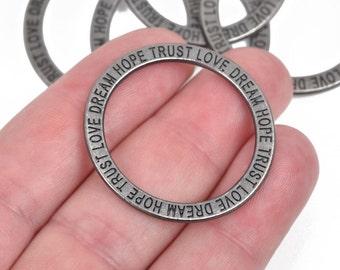 Trust Minimalist Circle of Life Bracelet- Love SALE,Minimalist Bracelet Dream Hope
