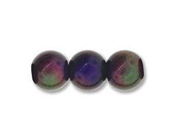 9mm Mood Beads Silver Core bme0693 10 beads Oval
