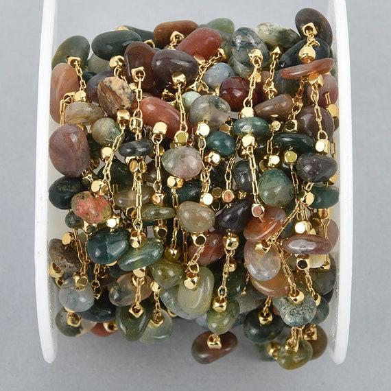 2 Natural EYE AGATE Cabochon Beads 15mm Square Cushion Cut Gemstone Cab0552