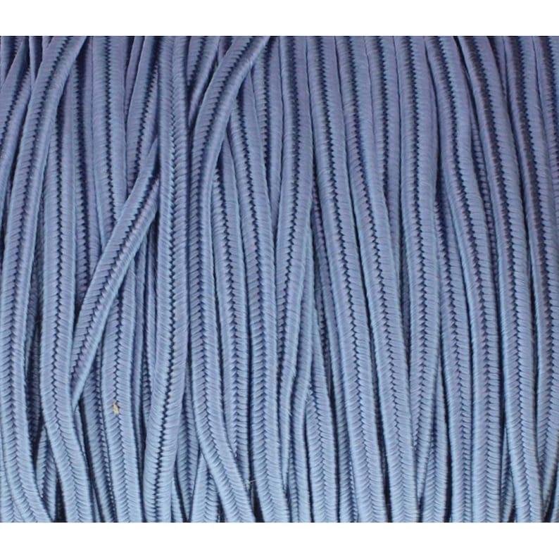 Soutache Tyrol Braid Cord 3mm Blue 3 yds cor0252