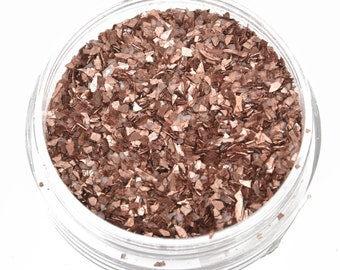 CHOCOLATE BROWN Crushed Glass Glitter for ICE Resin by Ranger .25oz cft0098
