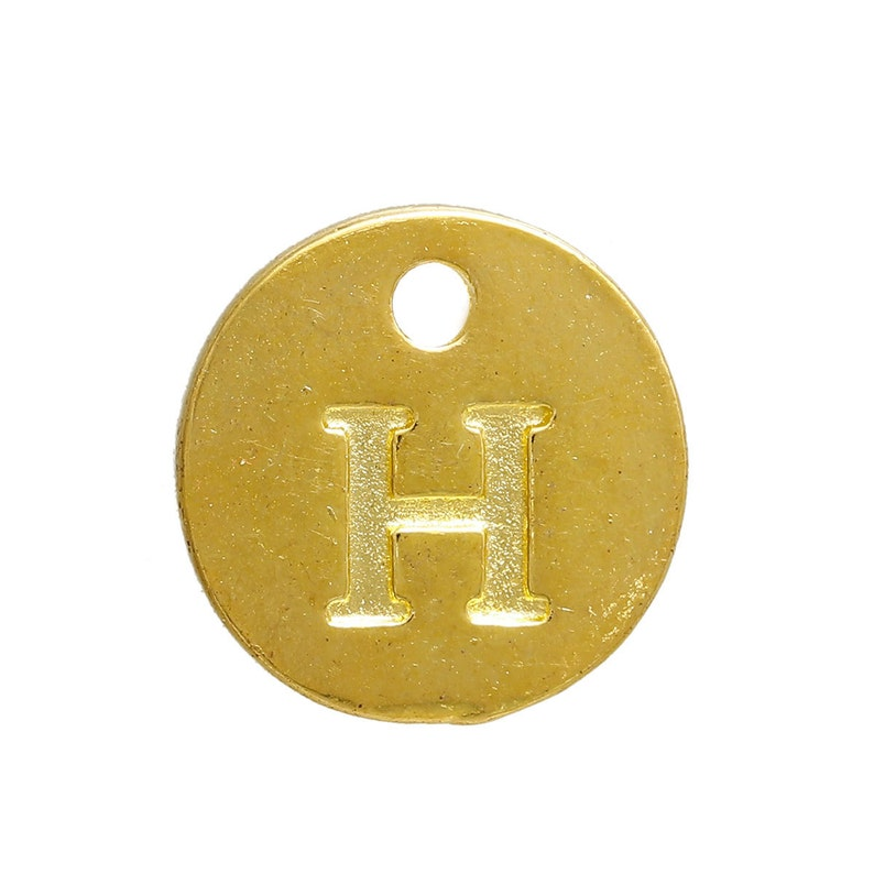 Smart New Arrived 26 Letters Stainless Steel Beads Charm With Hole High Quality Goods Jewelry Findings & Components