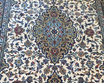 5x8FT High Quality Handmade Kashan Collectible Oriental Rug