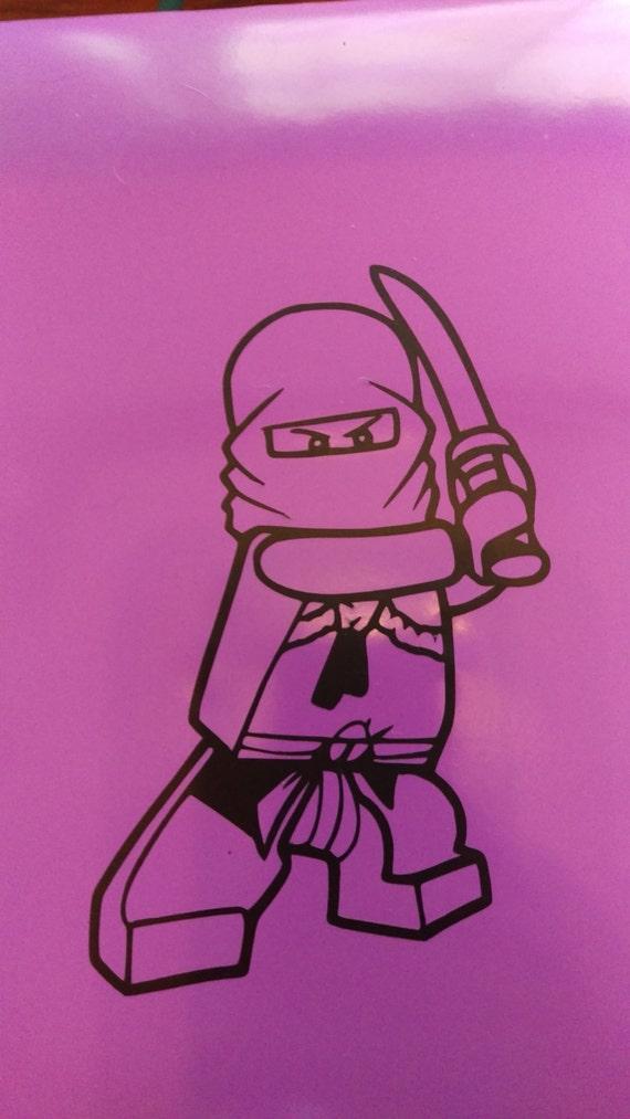 Lego Ninja Ninjago Vinyl Aufkleber Aufkleber Wand Auto Etsy