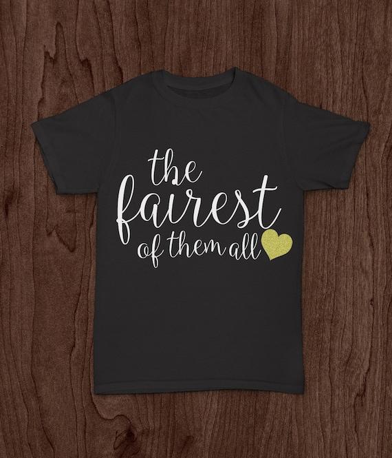 b6ac726d Disney World Adult T Shirt Snow White Fairest Of Them All   Etsy