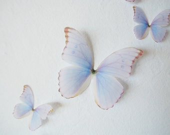 3D Wall Butterflies- Princess Purple Set of 10