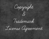 Copyright License Agreement