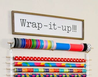 Wrap it up sign