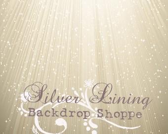7ft x 7ft BACKDROP / Ray Of Hope / Vinyl Photography Backdrop / Prom / Photobooth / Senior / Newborns