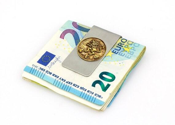 Leo Zodiac Money Clip Man Gifts Birthday Gift The Best