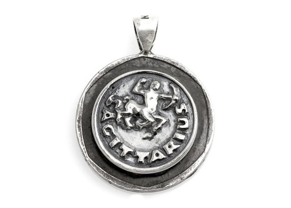 Coin ring with the Taurus coin medallion on owl Taurus jewelry Taurus ring Noa Tam zodiac jewelry