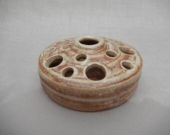 Pottery  Makeup Brush  Organizer/ Caddy - Handmade Pottery