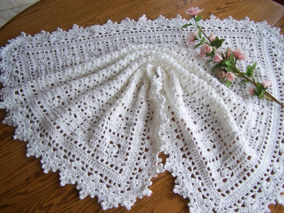 New Crocheted Personalized Sweet Dreams Baby Afghan-Custom Made