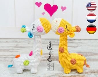 Tutorial Girafinha Amigurumi - Parte 2 de 3 - YouTube (com imagens ... | 270x340
