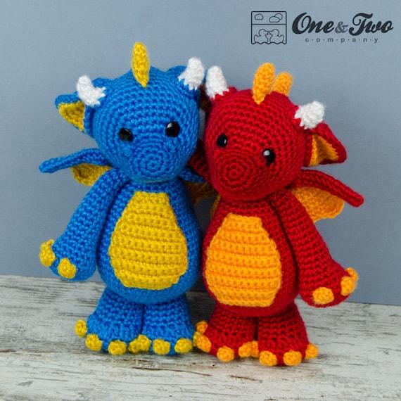Amigurumi Baby Dragon Crochet Pattern Video Tutorial   570x570