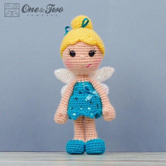 DIY Amigurumi Tinkerbell Keychain Tinkerbell Amigurumi | Crochet ... | 570x570