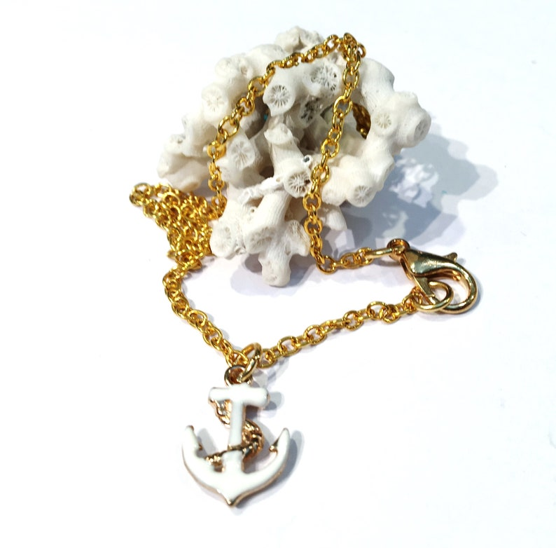 Anchor Necklace Gold Anchor Jewelry Women Seas The Day Gift For Her Anchor Necklace Women Nautical Necklace for Women Anchor Jewelry Women