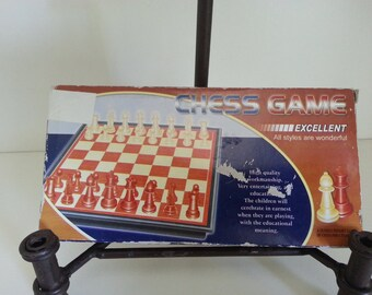 Vintage travel chess