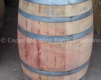 Use Wine Barrel solid oak from a Napa Valley Winery