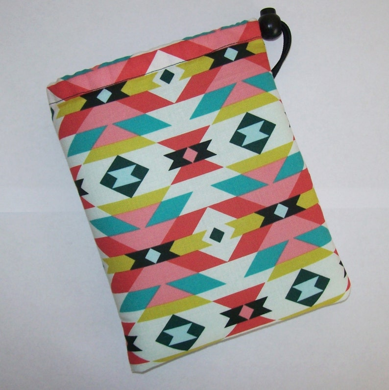 Pipe Pouch  Pastel Tribal  Pipe Case  Glass Pipe Bag  image 0