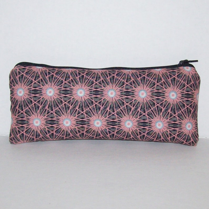 Flower Bursts Pipe Bag  Glass Pipe Case  Padded Pipe Pouch  image 0