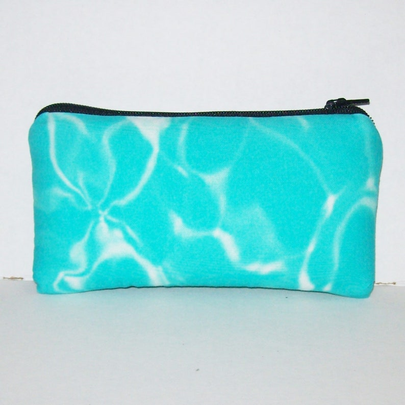 Swimming Pool Water Zipper Bag  Padded Pipe Pouch  Glass image 0