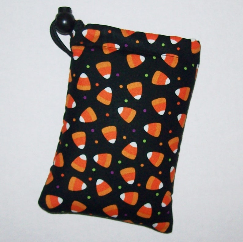 Pipe Pouch  Halloween  Candy Corn  Pipe Case  Glass Pipe image 0