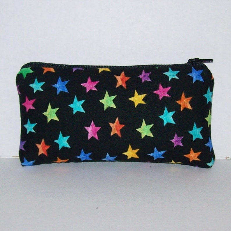 Pipe Pouch  Colorful Stars Pipe Case  Padded Pipe Pouch  image 0