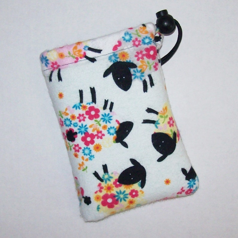 Colorful Sheep  Padded Pipe Pouch  Glass Pipe Case  Hippie image 0