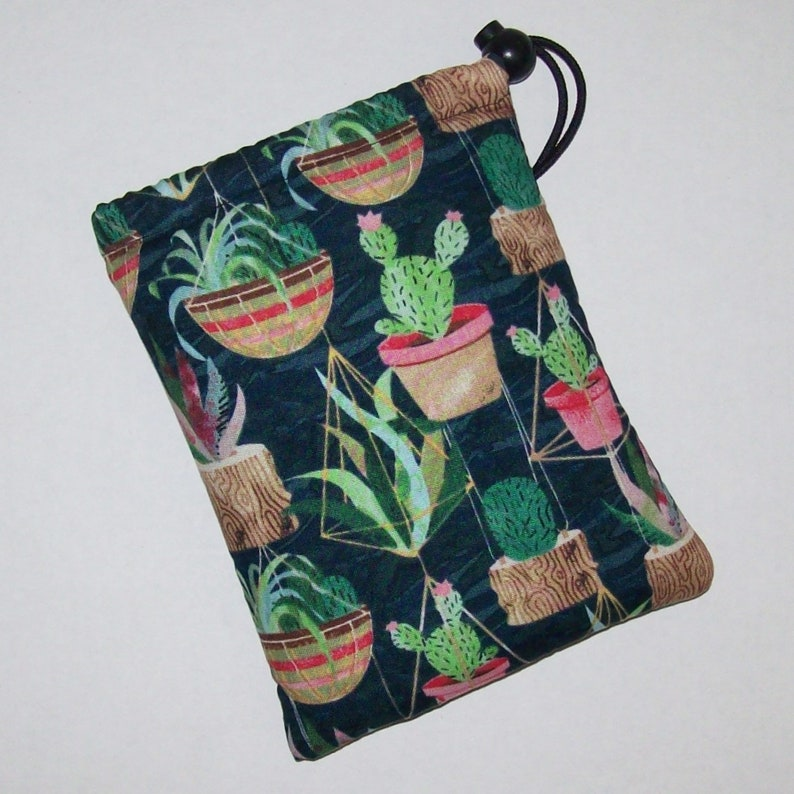 Succulent Cactus  Pipe Pouch  Glass Pipe Case  Pipe Bag  image 0