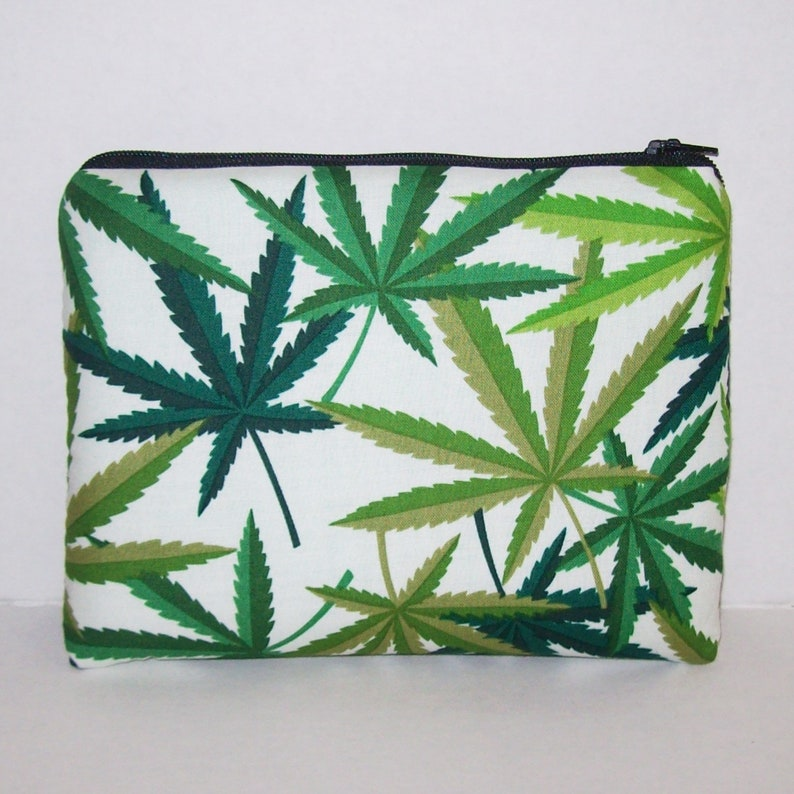Pipe Pouch  Cannabis Pipe Bag  Glass Pipe Case  Padded Pipe image 0