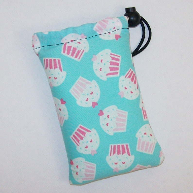 Pipe Pouch  Sweetheart Cupcake  Glass Pipe Case  Pipe Bag  image 0