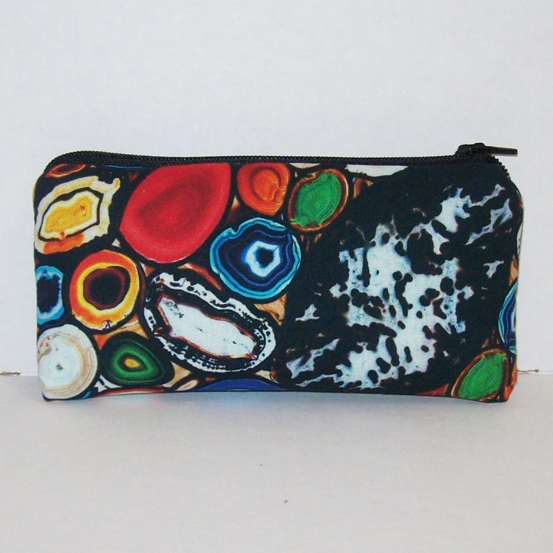 Geode  Crystals  Glass Pipe Case  Pipe Bag Padded Pipe image 0