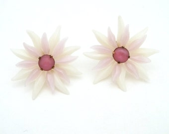 Vintage Soft Plastic Earrings