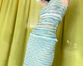 Vintage Missoni Knit Two Piece Skirt Set