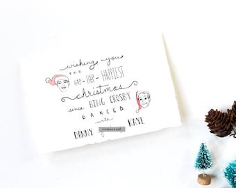 Funny Christmas Card - Happiest Christmas