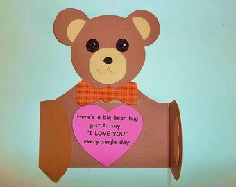 BEAR HUG Greeting Card Kit (2)