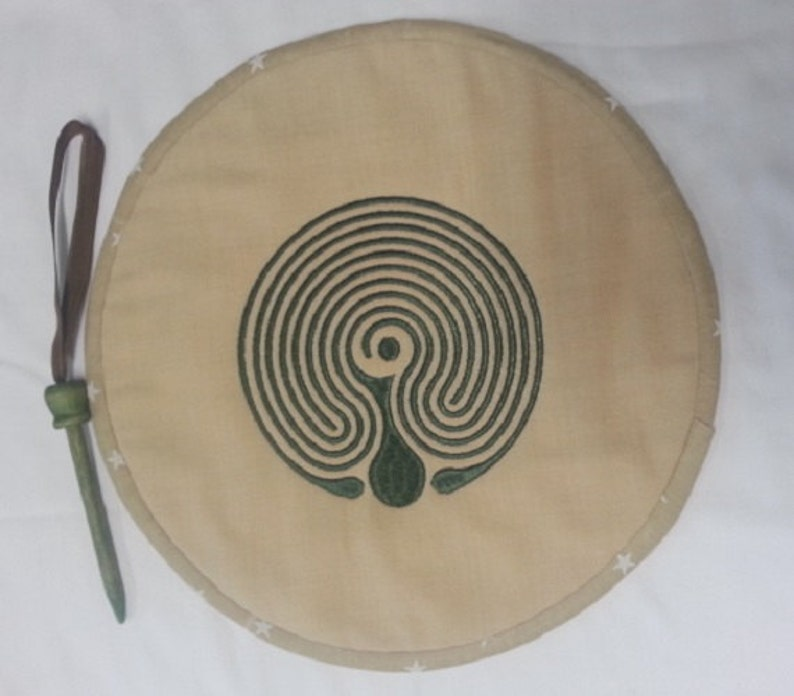 Reversible Fabric Finger Labyrinth