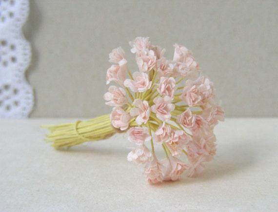 5 mm 30 pale pink flowers gypsophila paper flowers etsy image 0 mightylinksfo