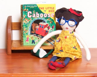 """Vintage Little Golden Book Classic  - """"The Little Red Caboose"""""""