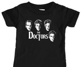INFANT TEE - Doctor Who Time Lord Beatles Parody Cover Baby Top