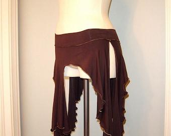 Joyanna Layering Danceskirt, Tribal, Bellydance, Salsa, Gypsy, Forest Nypmh, Fairy Costume, Other Colors