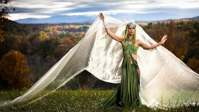 3ec5f0bf9e8a5 Meadow Deva Goddess Fairy Ensemble Field Nymph Costume   Etsy