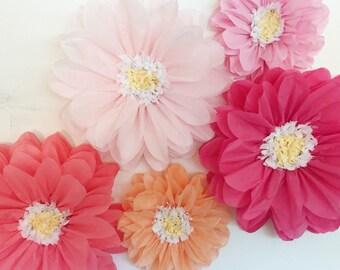 Tissue Paper Flowers Etsy