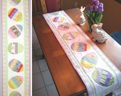 Happy Hunting - Easter Table Runner Pattern - Downloadable Version