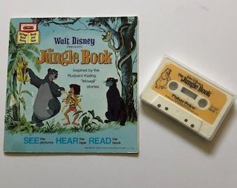 Vintage Disneys The Jungle Book Read Along