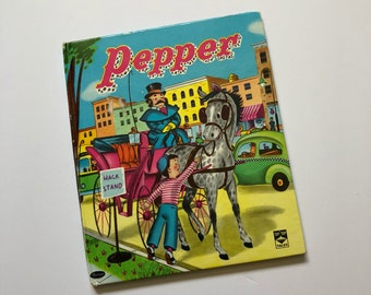 Vintage Pepper Top Top Tales Book