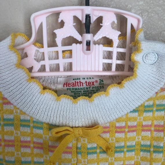 1980s Healthtex Knit Romper 1824 months